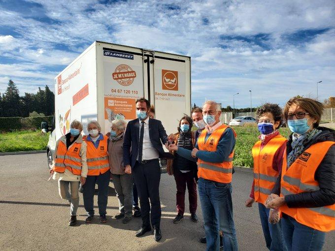 Visite de M. DELAFOSSE maire de Montpellier